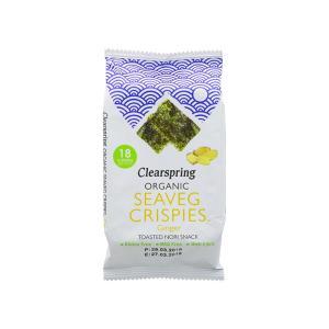 Seaveg Crispies Ginger BIO 4g - Clearspring