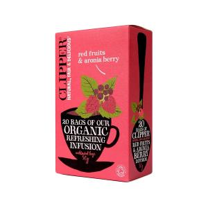 Red Fruits & Aronia seeds Infusion 20 sachets - Clipper
