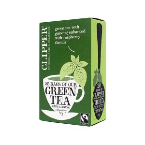 Green tea with Ginseng 20 sachets - Clipper