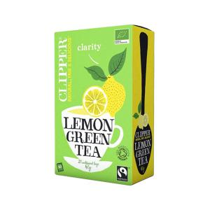 Green tea with Lemon 20 sachets - Clipper