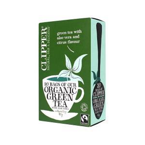 Green Tea with Aloe Vera 20 sachets - Clipper
