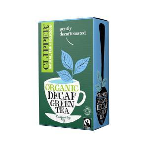 Βιολογικό Πράσινο Τσάι Χωρίς Καφεΐνη Χωρίς Ζάχαρη (20 φάκ.) 40g | Clipper