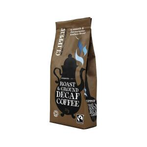 Decaffeinated roast & ground Arabica coffee 227g - Clipper