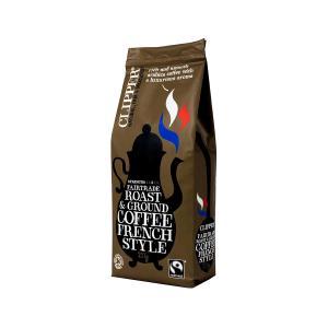 French Style Roast & Ground Arabica Coffee 227g - Clipper