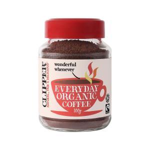 Βιολογικός Στιγμιαίος Καφές Granules Rich Roast Χωρίς Ζάχαρη 100g | Clipper