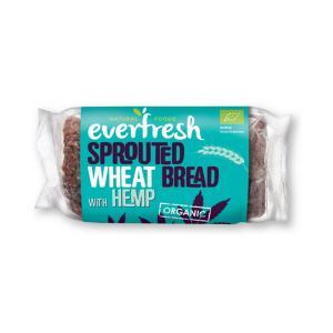 Βιολογικό Ψωμί Φύτρου Σιταριού με Κάνναβη 400gr | Everfresh