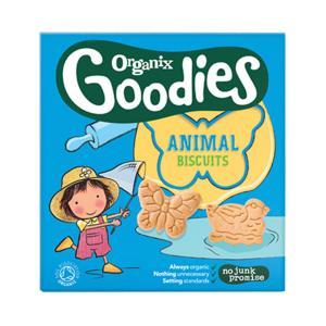 Μπισκότα Ζωάκια Ολικής Άλεσης 100g | Υγιεινό Σνακ για Παιδιά | Goodies Organix